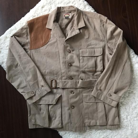 f82351cc023ea Banana Republic Jackets & Coats   Vintage 80s Hunting Safari Jacket ...
